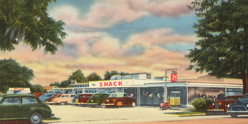 Picture of an old Drive-In Restaurant