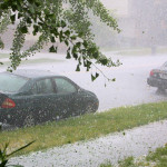 Picture of a Hail Storm