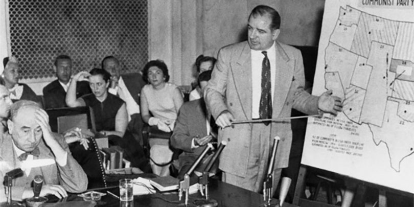 Picture of the McCarthy-Army Hearings