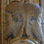 Picture of the Bust of Janus at the Vatican Museum