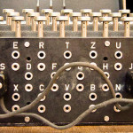 Picture of Enigma Plugboard