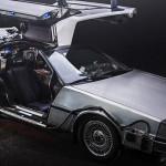 Picture of a DeLorean