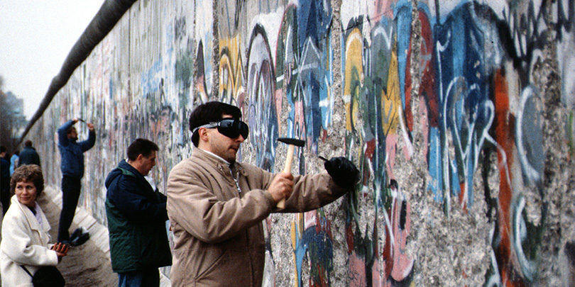 Picture of the Berlin Wall