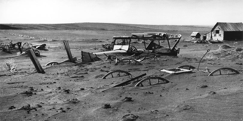 Picture of the Dust Bowl in 1936