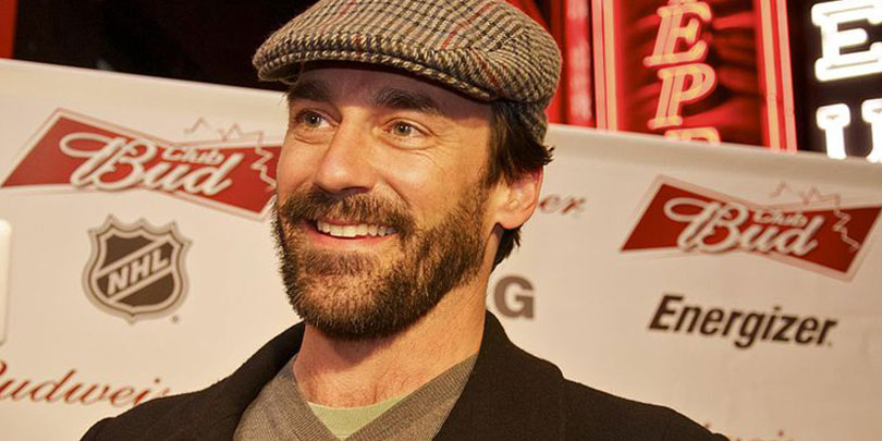 Picture of Jon Hamm Vancouver Olympics 2010