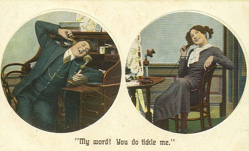 Picture of Postcard for Candlestick Telephones