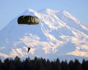 Army Jumper Mt. Rainier