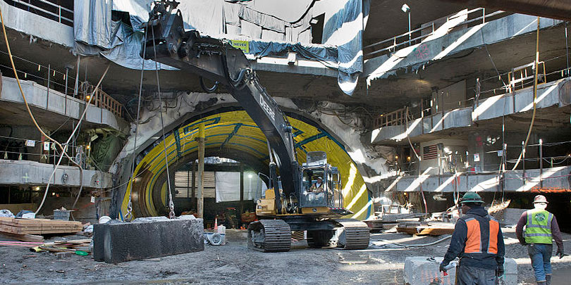 Subway MTA Excavation