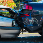 Two Cars in a Bumper Collision