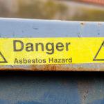 Danger: Asbestos Hazard