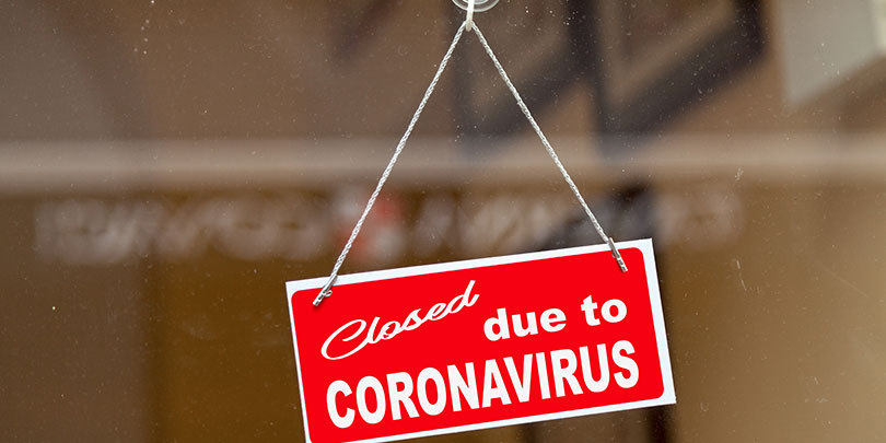 coronavirus, covid-19, business, closed